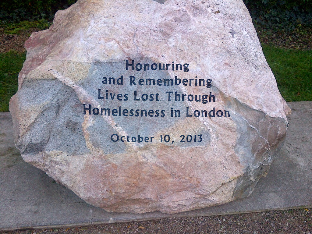 London Homeless Memorial