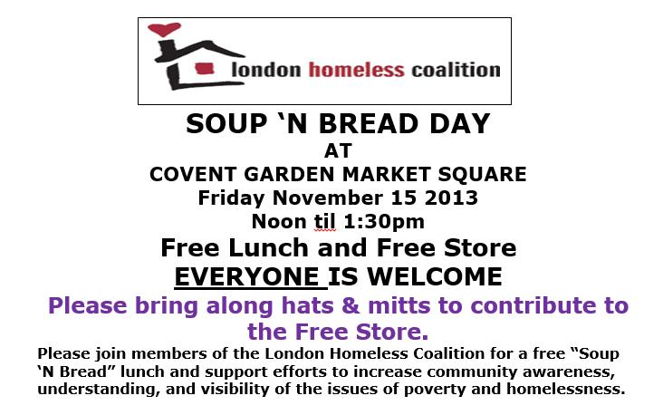 Soup n Bread Nov 2013