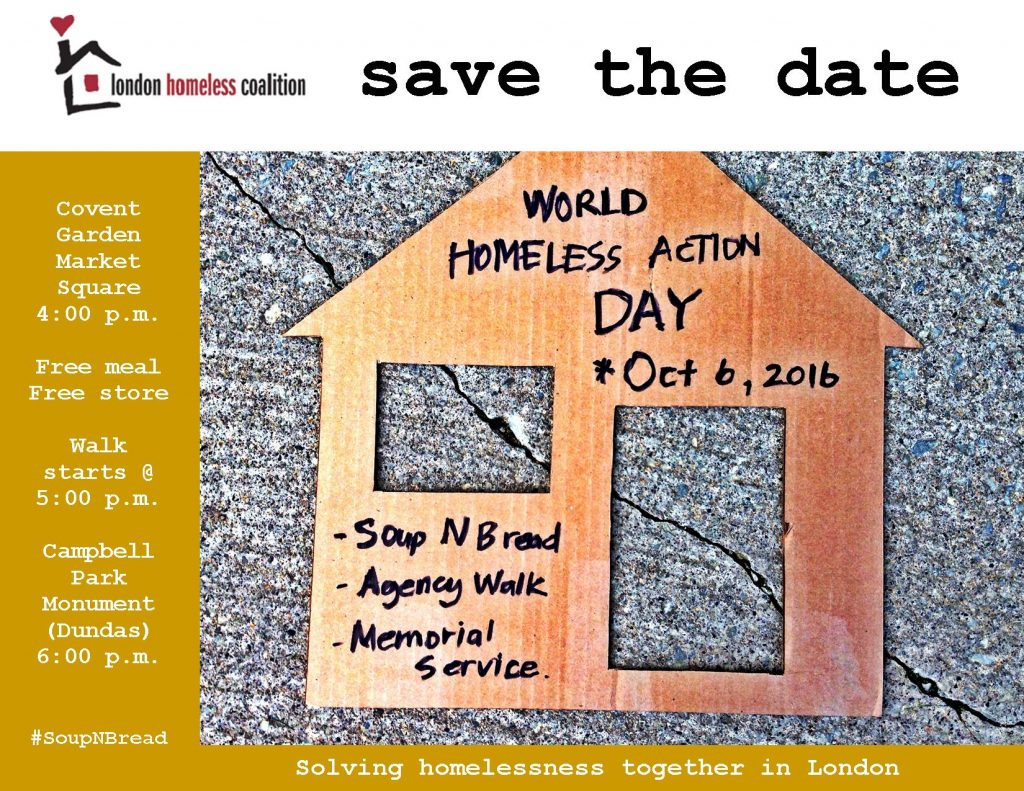 World Homeless Action Day 2016